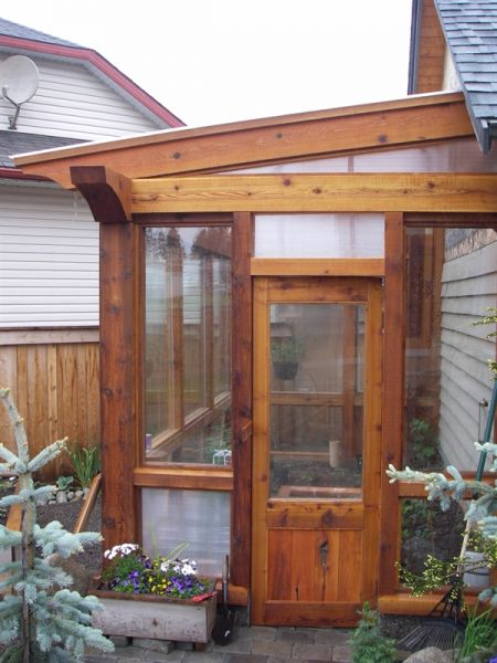 Devries Timber Frame :: Green houses